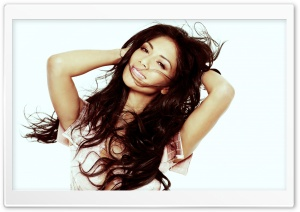 Nicole Scherzinger Smile HD Wide Wallpaper for Widescreen
