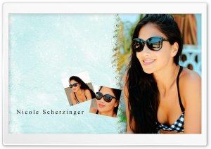 Nicole Scherzinger Summer HD Wide Wallpaper for Widescreen