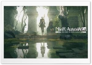 Nier Automata Become As Gods Edition HD Wide Wallpaper for 4K UHD Widescreen desktop & smartphone