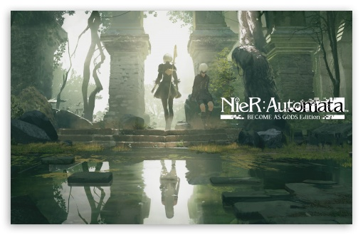 Download Nier Automata Become As Gods Edition HD Wallpaper