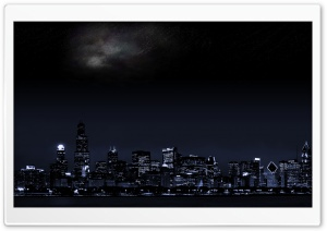 Nigh In The City HD Wide Wallpaper for Widescreen