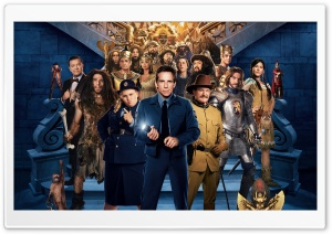 Night at the Museum 3 Secret of the Tomb HD Wide Wallpaper for Widescreen