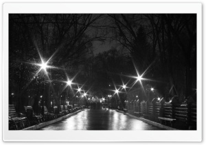 Night Black and White HD Wide Wallpaper for Widescreen