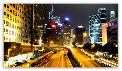 Night city UltraHD Wallpaper for 8K UHD TV 16:9 Ultra High Definition 2160p 1440p 1080p 900p 720p ; Mobile 16:9 - 2160p 1440p 1080p 900p 720p ;