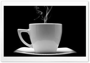 Night Coffee HD Wide Wallpaper for Widescreen