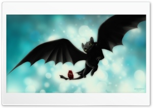 Night Fury Toothless HD Wide Wallpaper for Widescreen