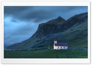 Night In Iceland HD Wide Wallpaper for Widescreen