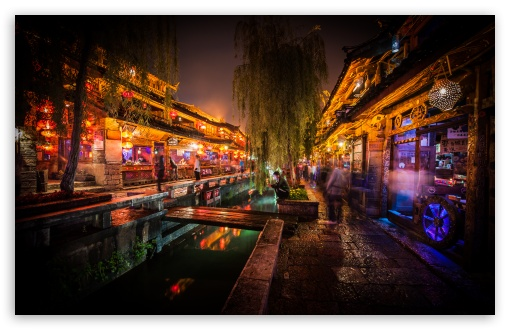 Night In Lijiang HD wallpaper for Wide 16:10 5:3 Widescreen WHXGA WQXGA WUXGA WXGA WGA ; HD 16:9 High Definition WQHD QWXGA 1080p 900p 720p QHD nHD ; UHD 16:9 WQHD QWXGA 1080p 900p 720p QHD nHD ; Standard 4:3 5:4 3:2 Fullscreen UXGA XGA SVGA QSXGA SXGA DVGA HVGA HQVGA devices ( Apple PowerBook G4 iPhone 4 3G 3GS iPod Touch ) ; Tablet 1:1 ; iPad 1/2/Mini ; Mobile 4:3 5:3 3:2 16:9 5:4 - UXGA XGA SVGA WGA DVGA HVGA HQVGA devices ( Apple PowerBook G4 iPhone 4 3G 3GS iPod Touch ) WQHD QWXGA 1080p 900p 720p QHD nHD QSXGA SXGA ;