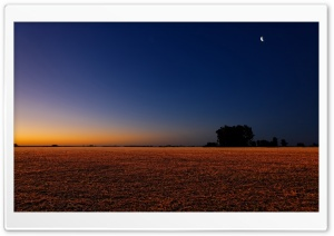 Night Landscape HD Wide Wallpaper for Widescreen