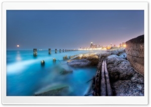 Night Photo HDR HD Wide Wallpaper for Widescreen