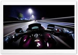 Night Ride HD Wide Wallpaper for 4K UHD Widescreen desktop & smartphone
