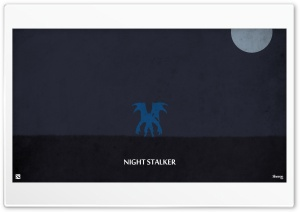 Night Stalker - DotA 2 HD Wide Wallpaper for Widescreen