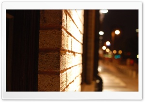 Night Street HD Wide Wallpaper for Widescreen