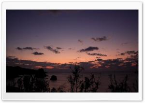 Nightfall Beach Nature