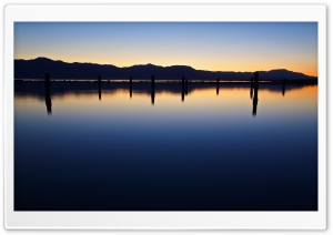 Nightfall Reflection HD Wide Wallpaper for Widescreen