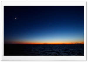Nightfall Skyline HD Wide Wallpaper for Widescreen