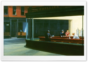 Nighthawks HD Wide Wallpaper for Widescreen