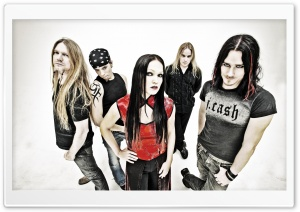 Nightwish HD Wide Wallpaper for Widescreen