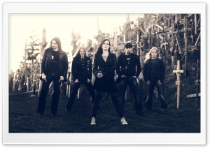 Nightwish Metal Band HD Wide Wallpaper for Widescreen