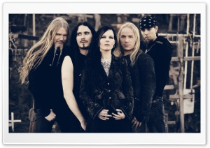 Nightwish Photo HD Wide Wallpaper for Widescreen