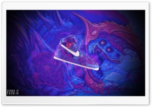 Nike Air Force Hyperbeast HD Wide Wallpaper for Widescreen