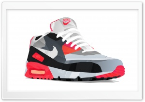 Nike Air Max 90 HD Wide Wallpaper for Widescreen