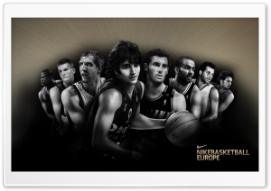 Nike Basketball   Europe HD Wide Wallpaper for Widescreen