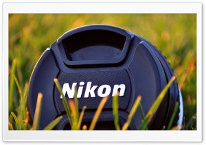 Nikon Camera Lens HD Wide Wallpaper for Widescreen