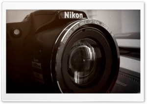 Nikon L820 HD Wide Wallpaper for Widescreen