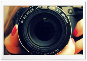Nikon Lens HD Wide Wallpaper for Widescreen