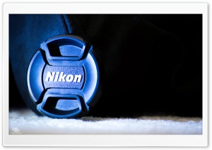 Nikon Lens Cap HD Wide Wallpaper for Widescreen