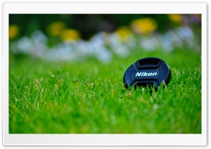 Nikon Lense Cap HD Wide Wallpaper for Widescreen