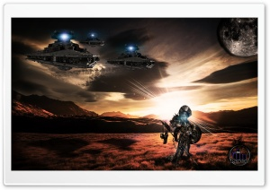 Nimrod Sci-Fi HD Wide Wallpaper for Widescreen