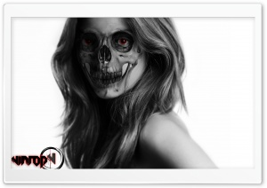 Nimrod Skull HD Wide Wallpaper for Widescreen