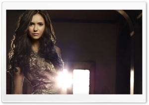 Nina Dobrev HD Wide Wallpaper for Widescreen