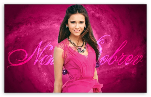Nina Dobrev In Pink Dress HD wallpaper for Wide 16:10 5:3 Widescreen WHXGA WQXGA WUXGA WXGA WGA ; HD 16:9 High Definition WQHD QWXGA 1080p 900p 720p QHD nHD ; Standard 4:3 5:4 3:2 Fullscreen UXGA XGA SVGA QSXGA SXGA DVGA HVGA HQVGA devices ( Apple PowerBook G4 iPhone 4 3G 3GS iPod Touch ) ; Tablet 1:1 ; iPad 1/2/Mini ; Mobile 4:3 5:3 3:2 16:9 5:4 - UXGA XGA SVGA WGA DVGA HVGA HQVGA devices ( Apple PowerBook G4 iPhone 4 3G 3GS iPod Touch ) WQHD QWXGA 1080p 900p 720p QHD nHD QSXGA SXGA ;