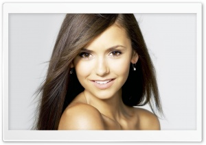 Nina Dobrev Portrait HD Wide Wallpaper for Widescreen