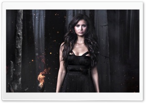 Nina Dobrev Vampire Diaries HD Wide Wallpaper for Widescreen