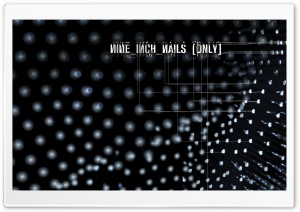 Nine Inch Nails (Only) HD Wide Wallpaper for Widescreen