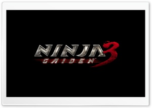 Ninja Gaiden 3 Video Game HD Wide Wallpaper for 4K UHD Widescreen desktop & smartphone
