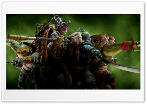 Ninja Turtles 2014 Ultra HD Wallpaper for 4K UHD Widescreen desktop, tablet & smartphone