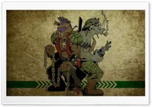 Ninja Turtles Characters HD Wide Wallpaper for Widescreen