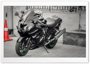 Ninja ZX14 R HD Wide Wallpaper for Widescreen