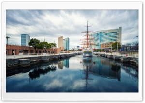 Nippon Maru, Yokohama HD Wide Wallpaper for Widescreen