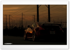 Nismo 370Z - Vossen VVS-CV2 HD Wide Wallpaper for Widescreen