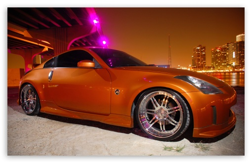Nissan 350Z Golden HD wallpaper for Wide 16:10 5:3 Widescreen WHXGA WQXGA WUXGA WXGA WGA ; HD 16:9 High Definition WQHD QWXGA 1080p 900p 720p QHD nHD ; UHD 16:9 WQHD QWXGA 1080p 900p 720p QHD nHD ; Standard 3:2 Fullscreen DVGA HVGA HQVGA devices ( Apple PowerBook G4 iPhone 4 3G 3GS iPod Touch ) ; Mobile 5:3 3:2 16:9 - WGA DVGA HVGA HQVGA devices ( Apple PowerBook G4 iPhone 4 3G 3GS iPod Touch ) WQHD QWXGA 1080p 900p 720p QHD nHD ;