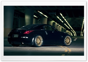 Nissan 350Z In Garage HD Wide Wallpaper for Widescreen