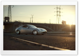 Nissan 350Z In Sunlight HD Wide Wallpaper for Widescreen