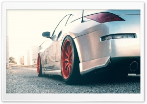 Nissan 350Z On Road HD Wide Wallpaper for Widescreen