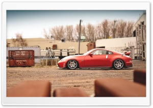 Nissan 350Z Red Ultra HD Wallpaper for 4K UHD Widescreen desktop, tablet & smartphone